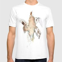 Flower Impression Mens Fitted Tee White SMALL