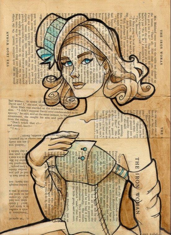 Iron Woman 7 Art Print