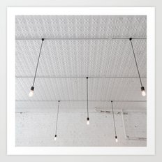 Coffeeshop Ceiling Art Print