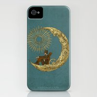 iPhone Cases featuring Moon Travel by Eric Fan