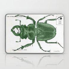 Green Beetle Postcard Laptop & iPad Skin