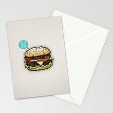 Epic Burger Stationery Cards
