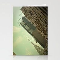Skewed view Stationery Cards
