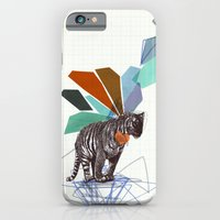 iPhone & iPod Case featuring T I G E R by Jo Cheung Illustration