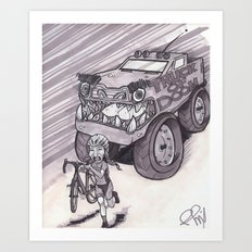 Truck of Doom Art Print