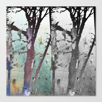 The Bewitched Tree 6 Canvas Print