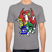 Might Morphing Poke'Rangers Mens Fitted Tee Tri-Grey SMALL