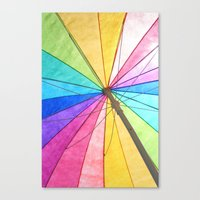 Umbrella Canvas Print