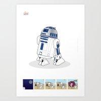 R2 D2 Mec Poster Art Print