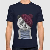 Holger Mens Fitted Tee Navy SMALL