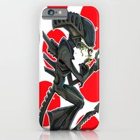 iPhone & iPod Case featuring URBNPOP Aliens Attack by Urbnpop