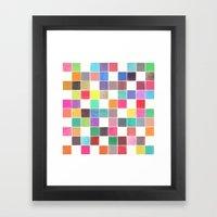 Colorquilt 1 Framed Art Print