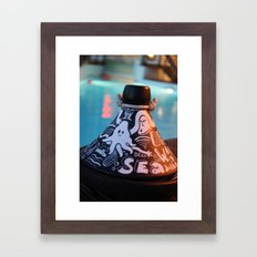 Summer tajine Framed Art Print