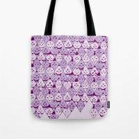 Diamond Faces Tote Bag