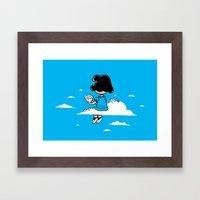 I Wonder Where Lucy Is..… Framed Art Print