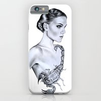 iPhone & iPod Case featuring Scorpio by Libby Watkins Illustration