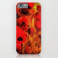 iPhone & iPod Case featuring FLOWERS - Poppy reverie by Valerie Anne Kelly