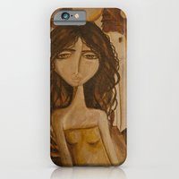 iPhone & iPod Case featuring Moon Girl by Gabriele Perici