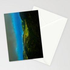 Birdseye view of the coast Stationery Cards