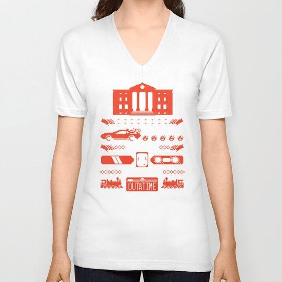 1.21 Stitches V-neck T-shirt