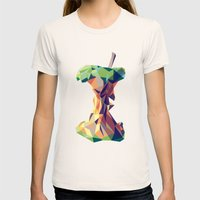 Keep Thinking Different. Womens Fitted Tee Natural SMALL
