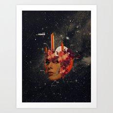 Astrovenus Art Print