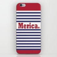 Merica iPhone & iPod Skin