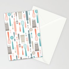 Kitchen utensils Stationery Cards