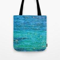 SPARKLE SEA Tote Bag