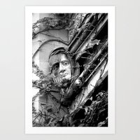 That Gargoyle,   University of Chicago 2009  Art Print