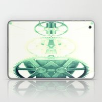 Oil the wheels Laptop & iPad Skin