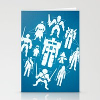 Plastic Heroes Stationery Cards