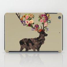 Spring Itself Deer Flower Floral Tshirt Floral Print Gift iPad Case