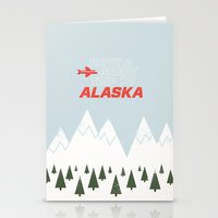 Alaska Trip Stationery Cards