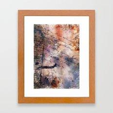 Centipede Framed Art Print
