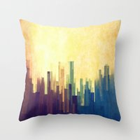 The Cloud City Throw Pillow