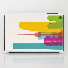 Shapes of Seoul accurate to scale iPad Case