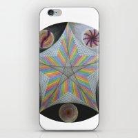Galactic Pentagram (ANALOG zine) iPhone & iPod Skin