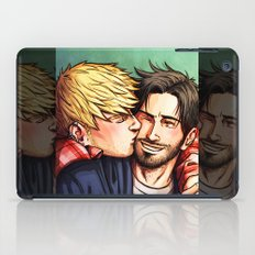 Theodore and William 09 iPad Case