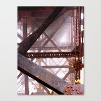I Need More Structure In… Canvas Print