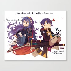 FE-you deserved better Canvas Print