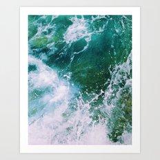 Waves pt. 2 Art Print