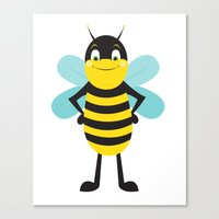 Bee Proud Canvas Print
