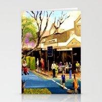 Sidewalk Cafe Stationery Cards