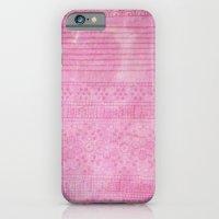 Romantic pink painting iPhone 6 Slim Case
