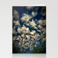 Clouds IV Stationery Cards