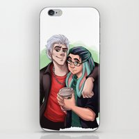 Hipsters iPhone & iPod Skin