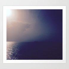 Into The Storm Art Print