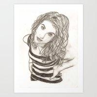 Hayley Williams Art Print