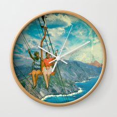 The Lift Wall Clock